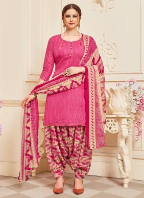 Sai Trendz Superior Patiyala Cotton New Fancy Panjabi Suits Collection