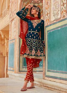 Your Choice Mariya B 2 Eid Special Pakistani Style Salwar Suits Collection(Bottom Full Stitched)