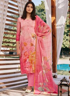 Swagat Raaga Eid Special Hand Work Cotton Palazzo Suits Collection