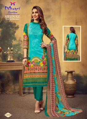 Mishri Meenaz Vol 5 Pure Cotton Churidar Suits Collection