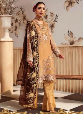 Noor Zeenat Georgette Heavy Work Pakistani Suits Collection