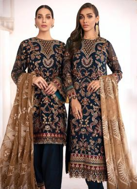 Fepic BRQ21 Heavy Net Eid Special Pakistani Suits Collection