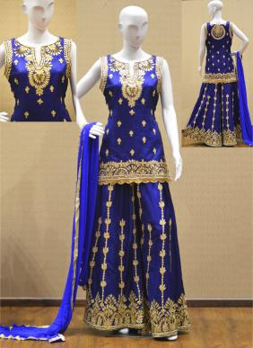 Ready-Made Designer Gota Patti Work Sharara Suits Wholesale Collection