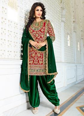 Zikkra Wedding Wear Designer Hand Work Eid Special Salwar Suits Collection