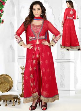 Ready-Made Party Wear Designer Handwork Anarkali Suits Collection